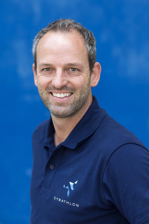 RobertRiener, ETH-Professor für Sensomotorische Systeme,ist Initiator und Hauptverantwortlicher des Cybathlon.