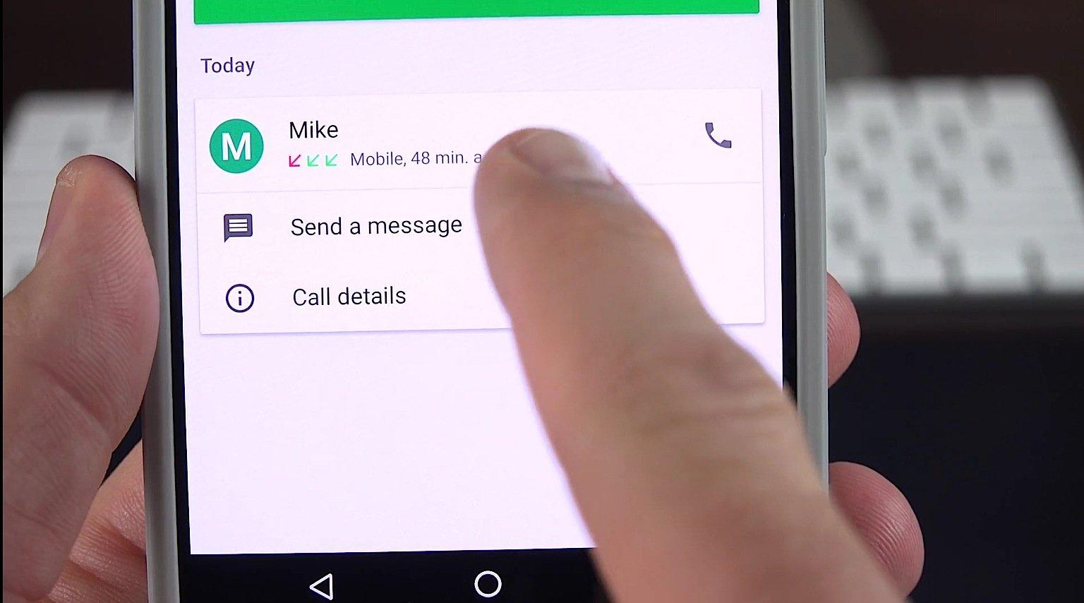 Nachrichten kann man künftig unter Android 7.0beantworten, ohne dass man die App öffnen muss.