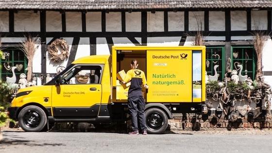 Der StreetScooter wurde speziell für die Post entwickelt. Das Elektroauto baut die Post im früheren Bombardier-Werk in Aachen.