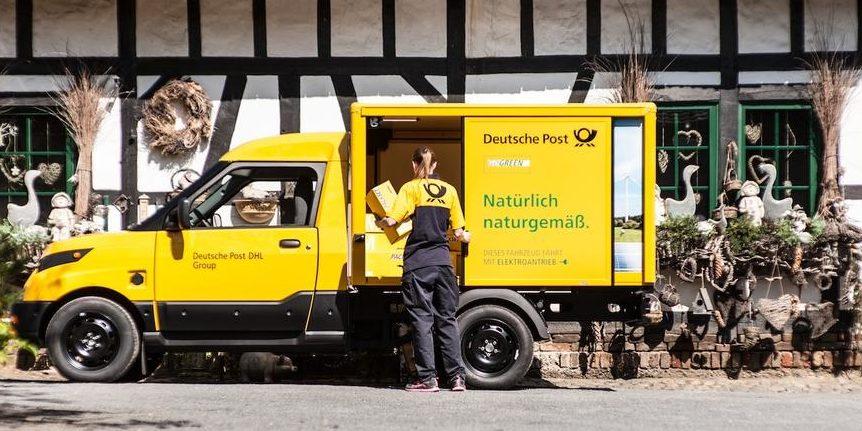 Post ist Fahrzeugbauer: 1.000sten StreetScooter ausgeliefert