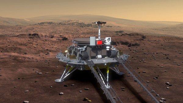 Mit diesem Landefahrzeug soll der Marsrover schon in vier Jahren auf dem Mars abgesetzt werden.