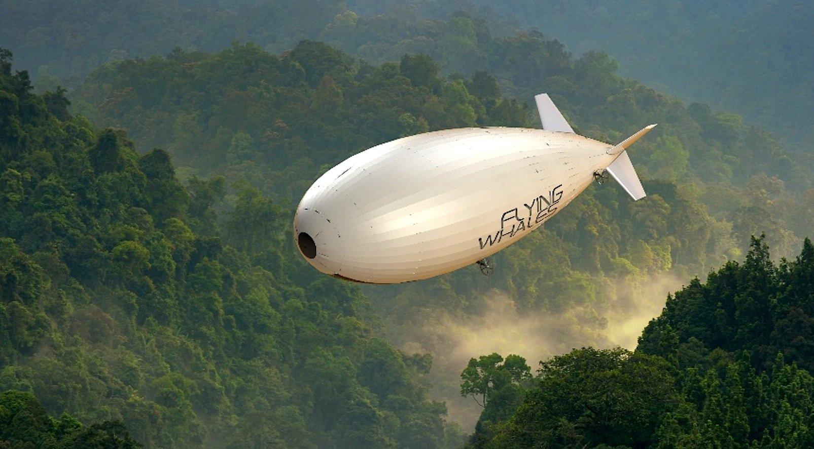 LCA60T:Das französische Unternehmen Flying Whales und der Konzern Skeleton Technologies mit Sitz in Estland und dem ostdeutschen Bautzen bauen gemeinsam ein Schwerlast-Luftschiff. Der mit Helium gefüllte Zeppelin soll Lasten bis zu 60 t transportieren können.