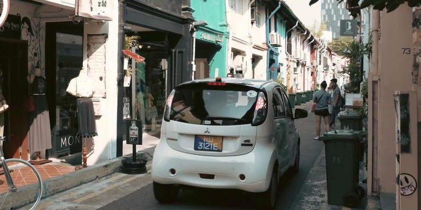 In Singapur fahren die ersten Taxis ohne Fahrer