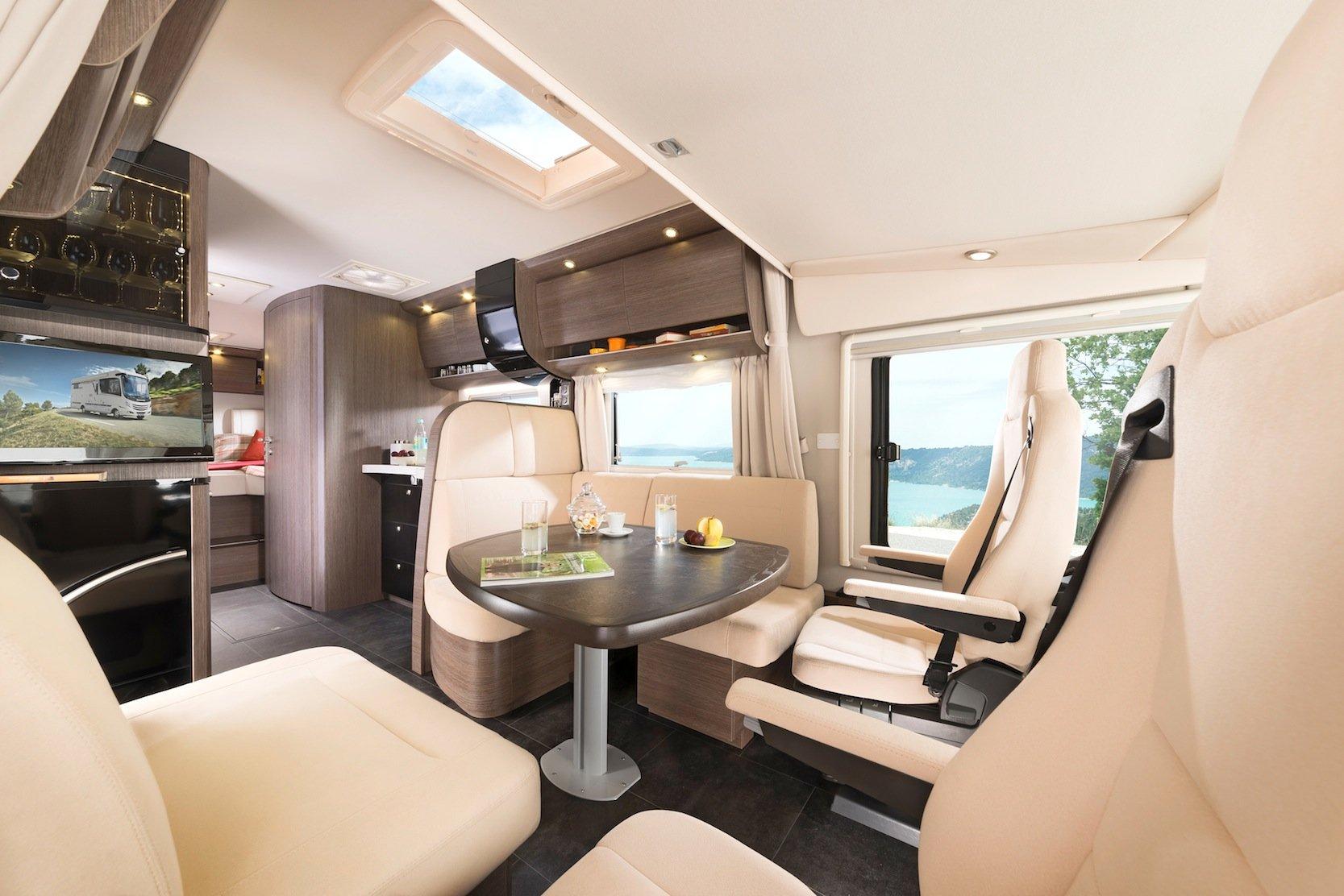 Ganz schön viel Platz: der Innenraum des neuen Carver890 RRL von Concorde.