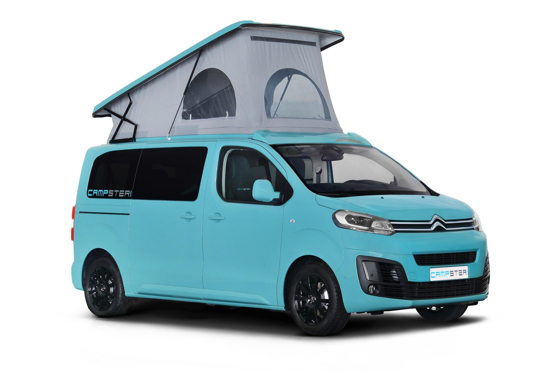 Es gibt auch günstigere Lösungen, um sich den Traum eines Campers zu erfüllen: Im Bild der umgebauteCitroen Spacetourer von Pössl.