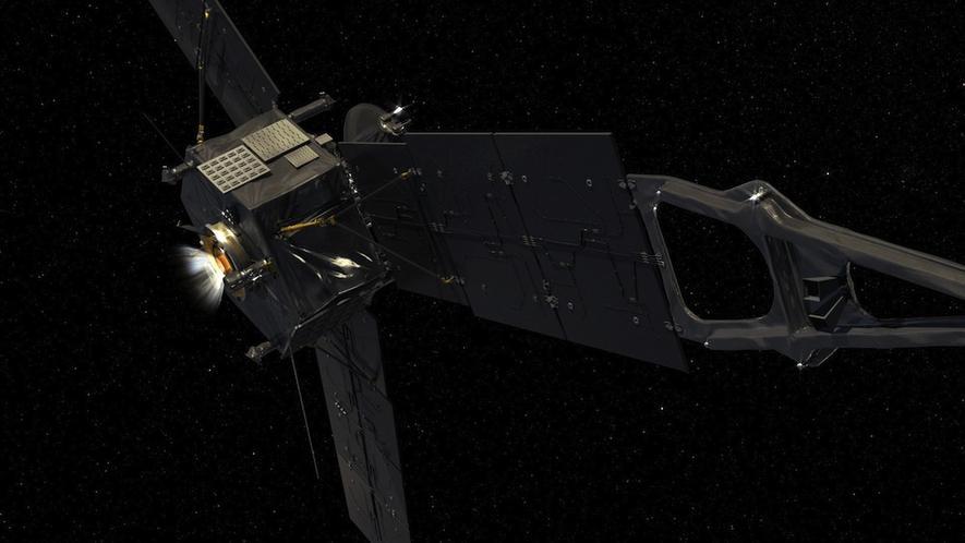 Raumsonde Juno ist bereits seit 2011 unterwegs und hat rund2.800 Millionen km zurückgelegt.