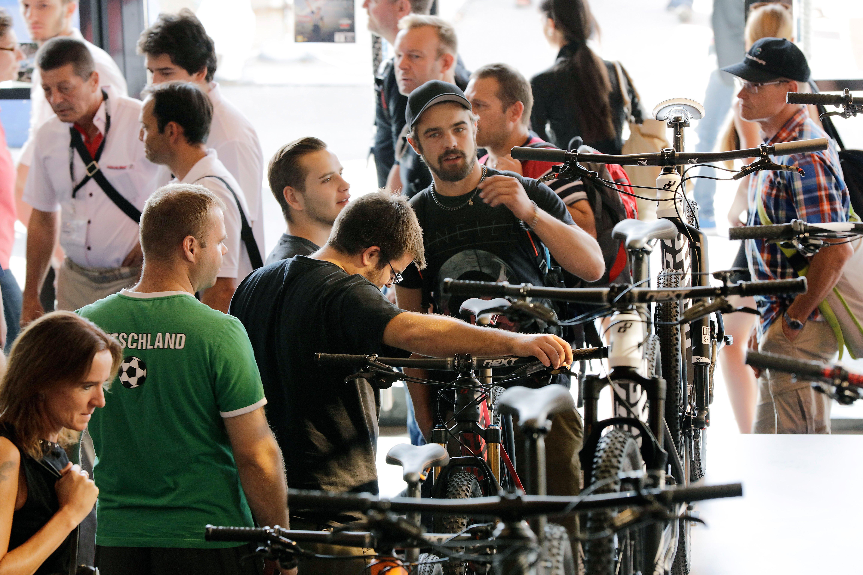 1.350 Aussteller kommen zur 25. Eurobike nach Friedrichshafen.