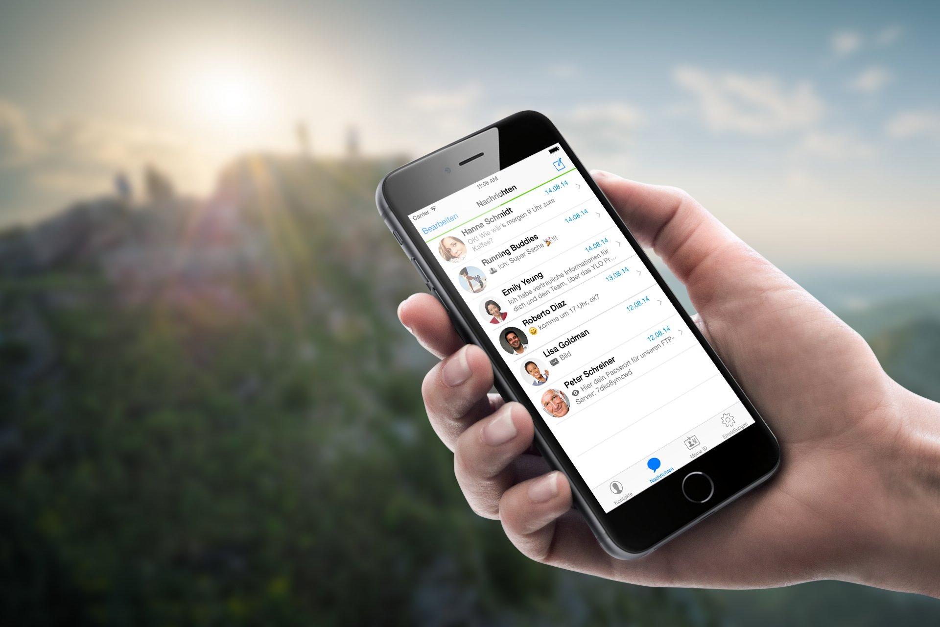 Der Schweizer Messenger Threema wirbt seit Jahren damit, besonders sicher zu sein. Das Unternehmen wurde erst 2012 gegründet.