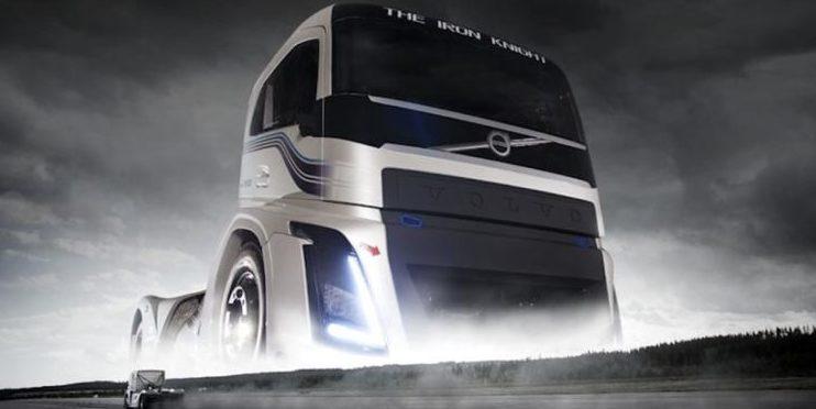 Volvo-Truck Iron Knight ist der schnellste Lkw der Welt
