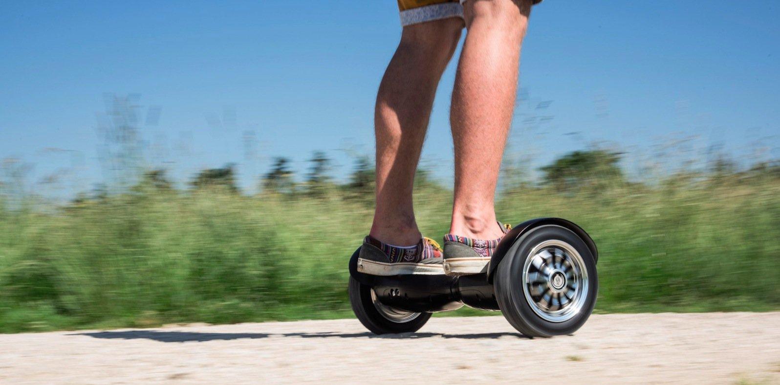 Größere Ausflüge möglich: Die Hama-Scooter haben eine Reichweite von bis zu 18 Kilometern.