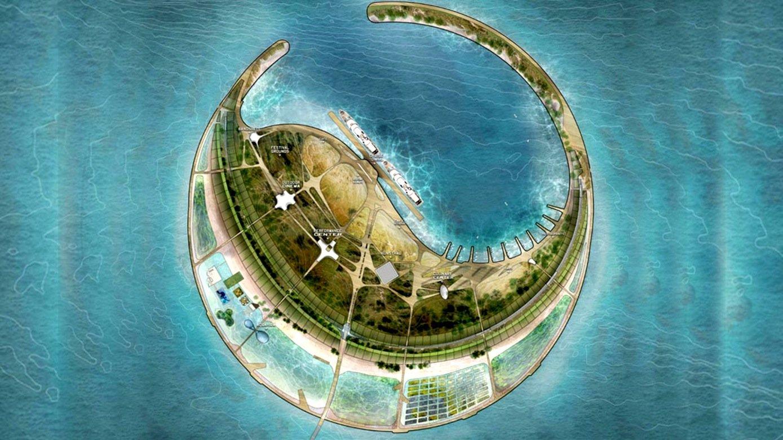 Gewonnen hat den Architektenwettbewerb zur Gestaltung der künstlichen Insel das New Yorker ArchitekturbüroDiller Scofidio + Rentro.