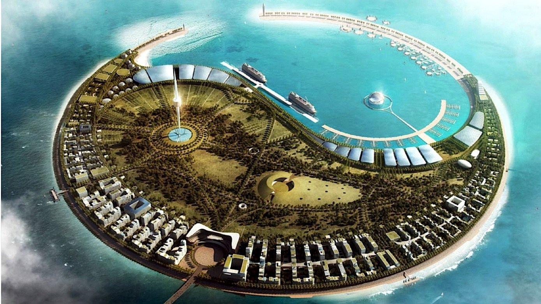 Auf den zweiten Platz kam der Entwurf des britischen Architekten Norman Foster.