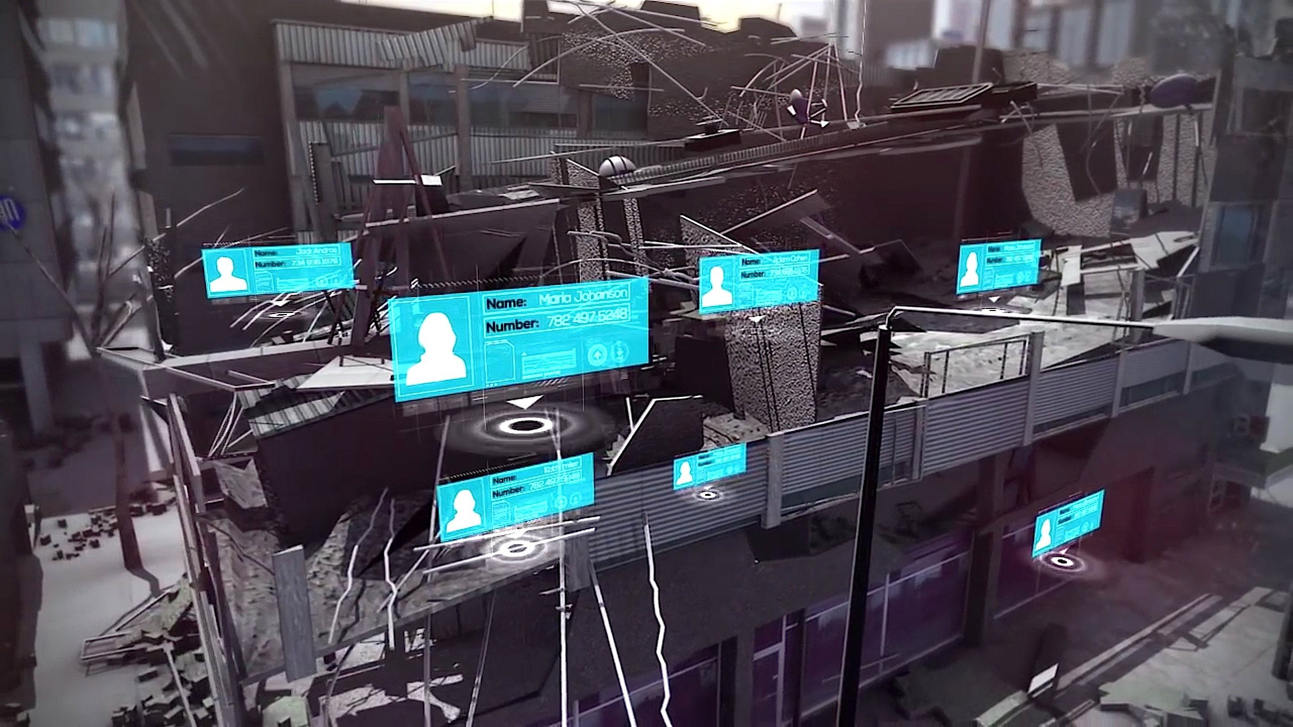 Das OrtungssystemRes-Q-Cell kann Smartphones bis auf einen Meter genau lokalisieren und feststellen, wer der Besitzer ist. So wissen die Rettungskräfte, um welche Opfer es sich handelt.