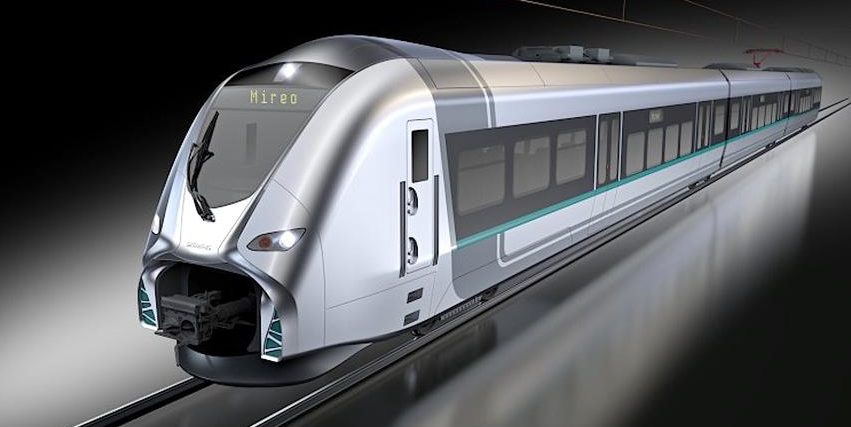 Regionalzug von Siemens