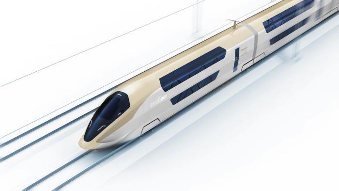 Der AeroLiner3000 als Modell im Kleinformat.