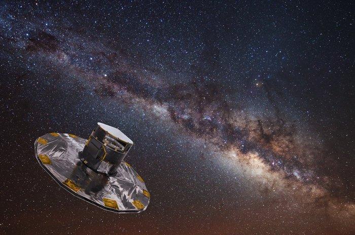 Fotografiert seit 1000 Tagen unentwegt Sterne: die ESA-Raumsonde Gaia.