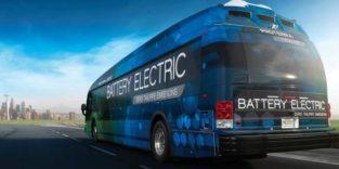 Ein Elektrobus, der mit einer Akkuladung fast 600 km weit fährt