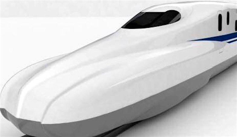 Der neue Shinkansen N700S präsentiert sich in noch windschnittigerem Design und vielen technischen Neuerungen. Mit knapp 700 Tonnen wiegt er 300 Tonnen weniger als die ursprüngliche