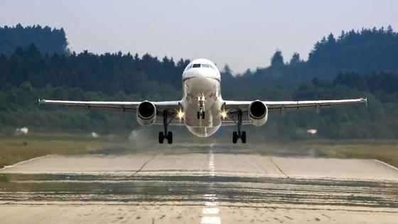 Der Airbus A320 ATRA des DLR im Landeanflug: Demnächst wird das Flugzeug zahlreiche Landemanöver auf dem Frankfurter Flughafen durchführen. Eine Lande-Navi wird dabei besonders lärmschonende Landungen ermöglichen.