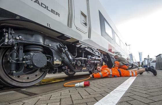Premiere auf der InnoTrans hat auch derHochgeschwindigkeitszug EC250 von Stadler: 140 Weltpremieren sollen auf der InnoTrans 2016 vorgestellt werden.