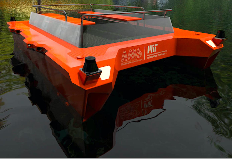 Der erste Prototyp des Roboat soll schon 2017 über die Kanäle von Amsterdam schippern.