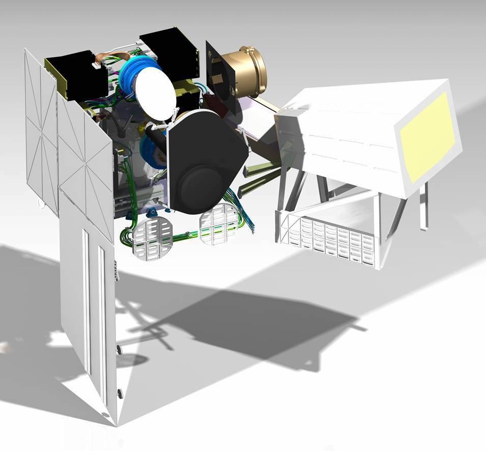 Das METimage-Instrument soll wichtige Informationen über Wolken, Landoberflächen, Ozean-, Eis- und Landoberflächentemperaturen aufzeichnen.