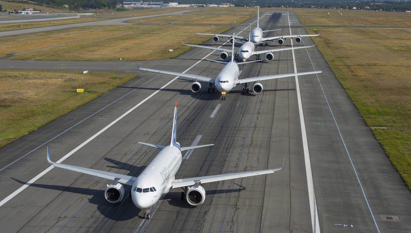 Airbus Family: Auch in 20 Jahren wird Airbus seine marktführende Stellung noch behaupten.
