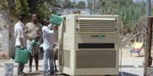 Diese Maschine zieht Trinkwasser aus der Luft