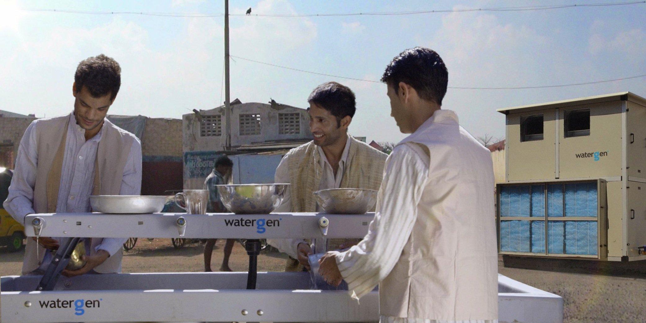 Knapp eine Milliarde Menschen haben keinen Zugang zu sauberem Trinkwasser. Ihnen wird Water-Gen helfen. Auf den Markt kommen soll die Trinkwassermaschine Ende 2016.
