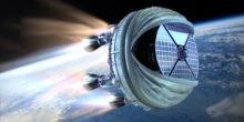 Mit Ballon: Raketenstart in 28.000 Metern Höhe