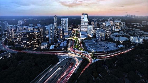 Über der Autobahn von Atlanta wird ein großer Park gebaut. Er soll den Menschen Erholung bieten, die Stadtteile miteinander verbinden und überdies das Klima verbessern.