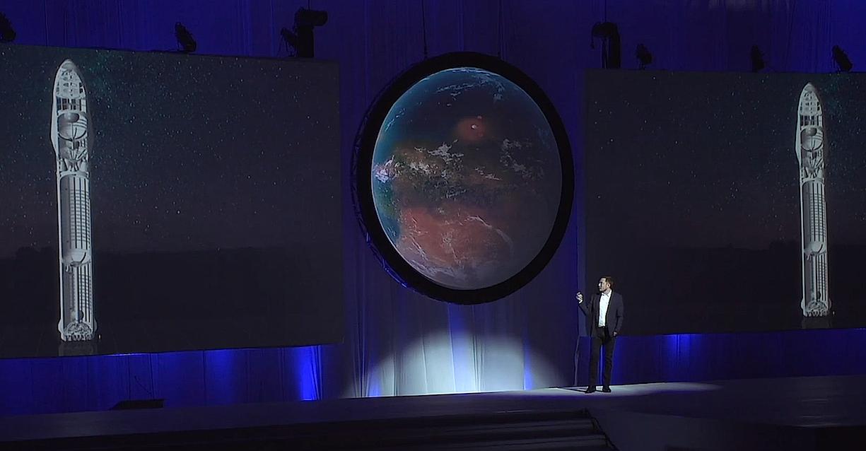 Auf derRaumfahrtkonferenz in Mexiko hat Elon Musk jetzt seine spektakulären Pläne für seine Marsmission vorgestellt.