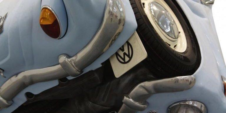So schön sieht der VW Käfer als Kugel aus