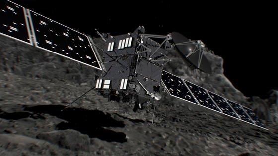 Die Landung auf Tschuri wird hart. Denn Rosetta hat weder Harpunen noch Haltevorrichtungen an Bord, um sich an der Oberfläche festzuhalten. Die Raumsonde wird mehrmals abprallen und schließlich zur Ruhe kommen.
