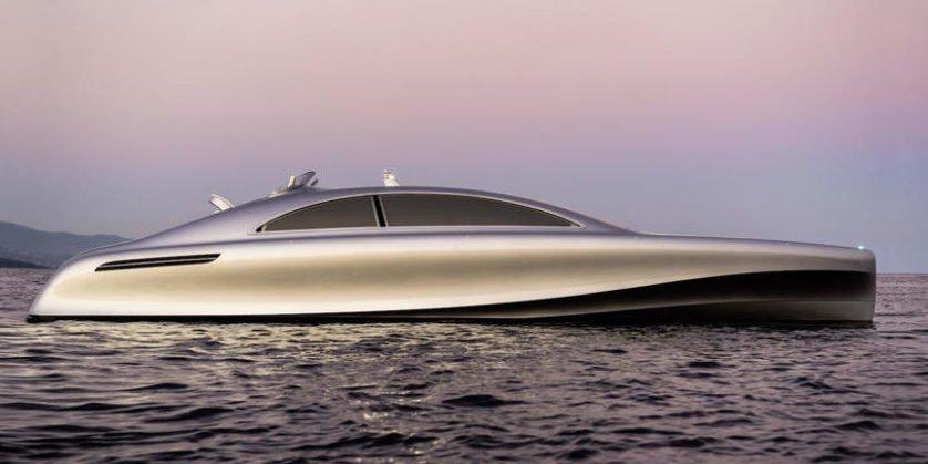 Ist das ein schwimmendes Mercedes S-Klasse-Coupé?
