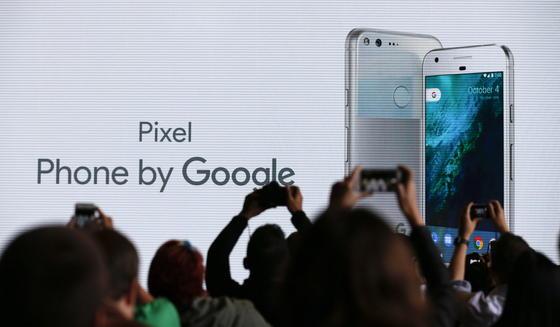 Pixel: Das neue Smartphone von Google wurde gestern in San Francisco vorgestellt.