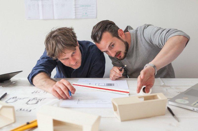Die Architekten Andreas Rauch (li.) undSimon Becker haben das Start-up