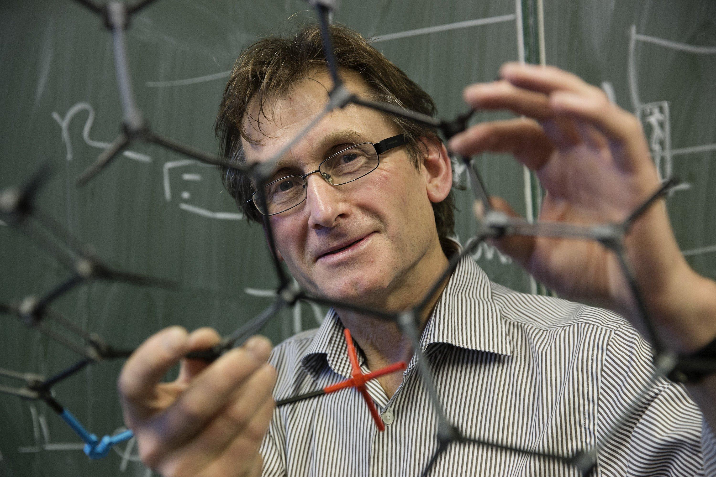 Bernard Feringa: Gemeinsam mit zwei anderen Molekularforschern hat der Niederländer denChemie-Nobelpreis 2016 erhalten.
