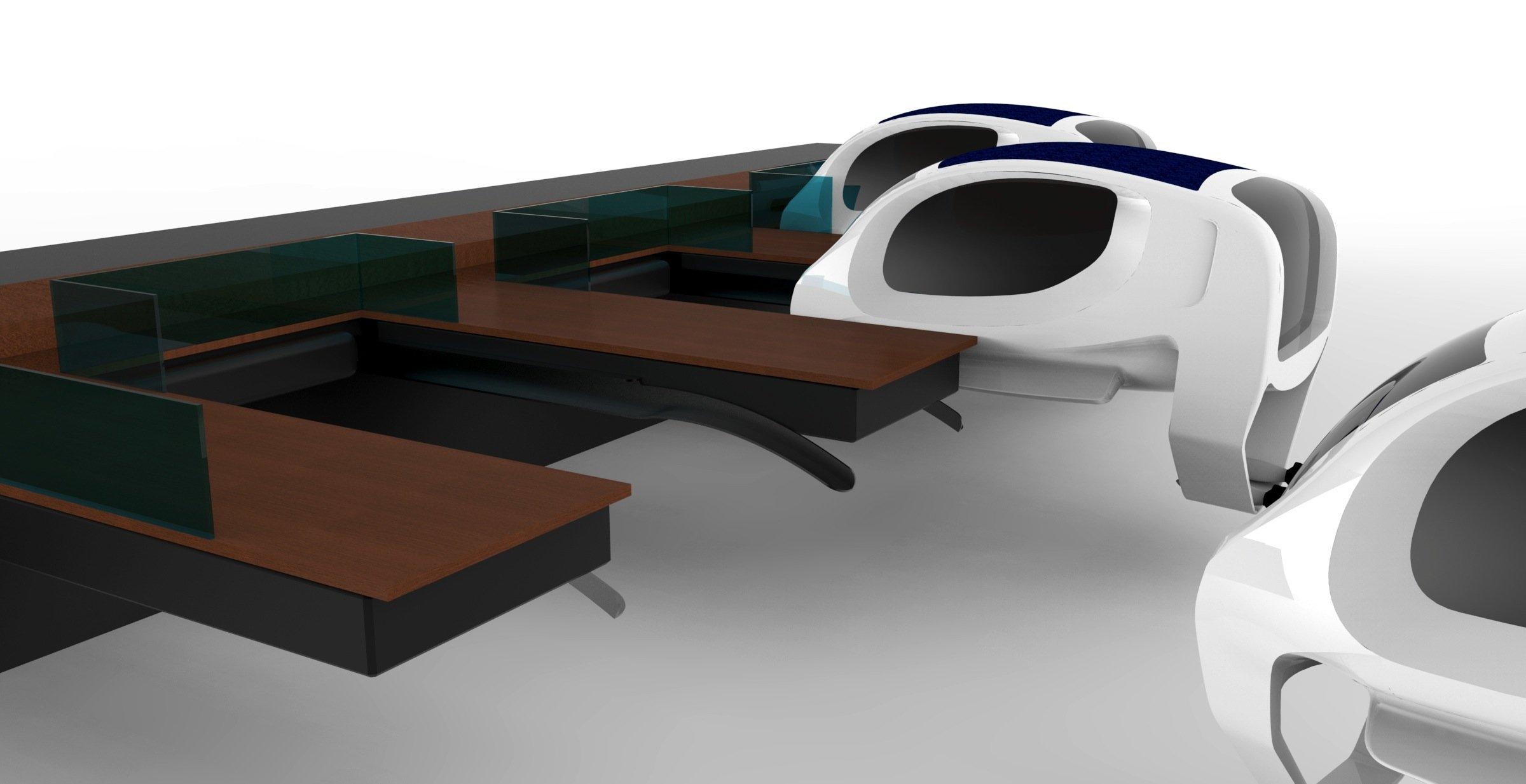 Die Wassertaxis haben Platz für vier Passagiere und sollen künftig autonom fahren.