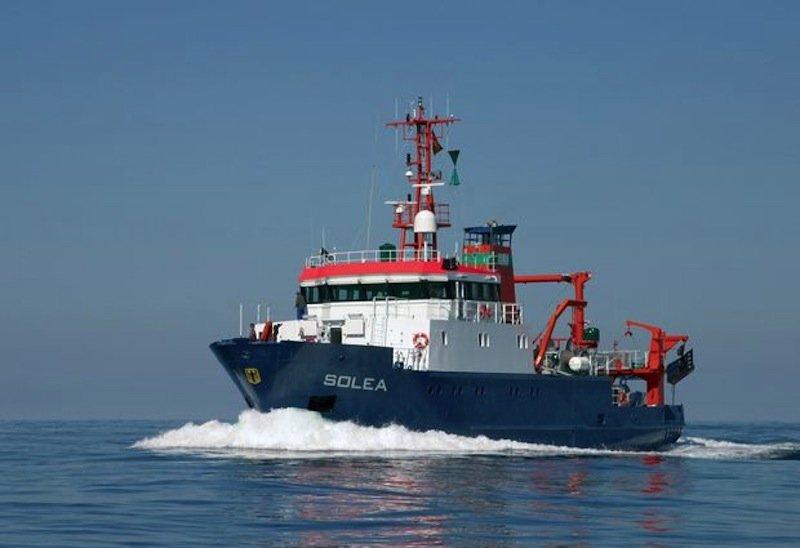 Das Forschungsschiff Solea befährt die Nordsee und die Ostsee.