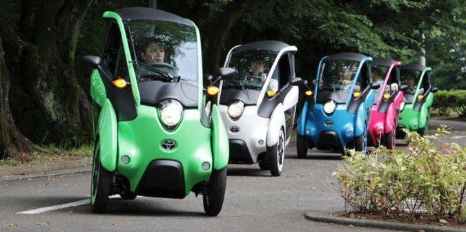 Für Spaß und entspanntes Einparken: Toyotas kleiner Elektroflitzer