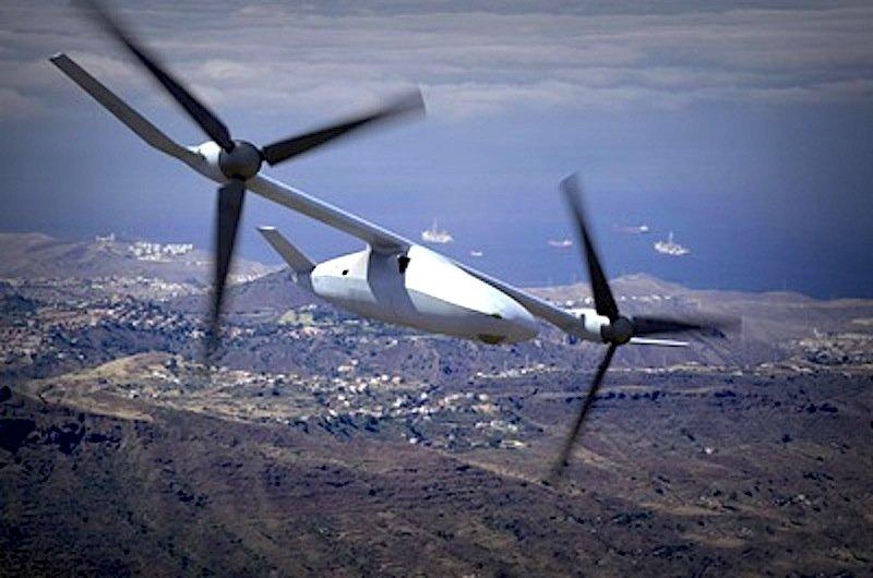 Die V-247 soll die Möglichkeit erhalten, in der Luft betankt werden zu können.