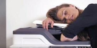 Veraltete Technik im Büro soll jährlich vier Arbeitswochen kosten