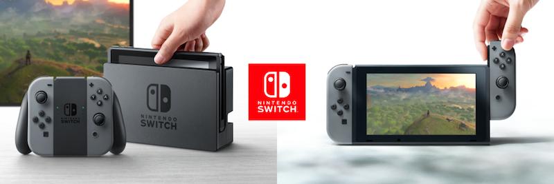 Ruckzuck ist Nintendo Switch ausgehbereit.