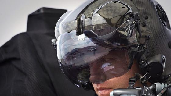 F 35 Gen III HMDS: Dieser Pilotenhelm für 400.000 US-Dollar ist wohl der teuerste Helm der Welt.