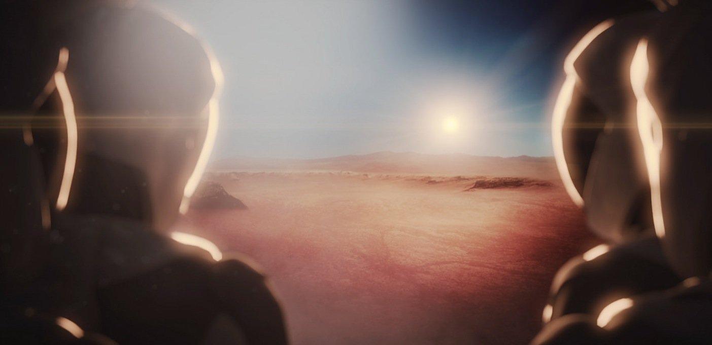 Ankunft auf dem Mars: Die ersten Transporte von Material zum Mars will Elon Musk 2018 beginnen.