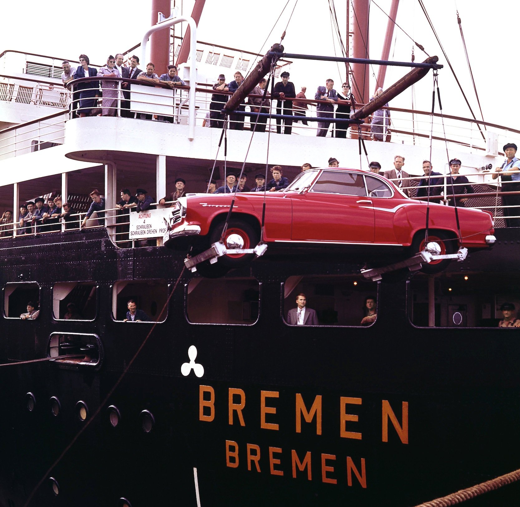 Die Nähe zum Bremer Überseehafen war schon früher ein Argument für Borgward, um an der Weser Autos herzustellen.