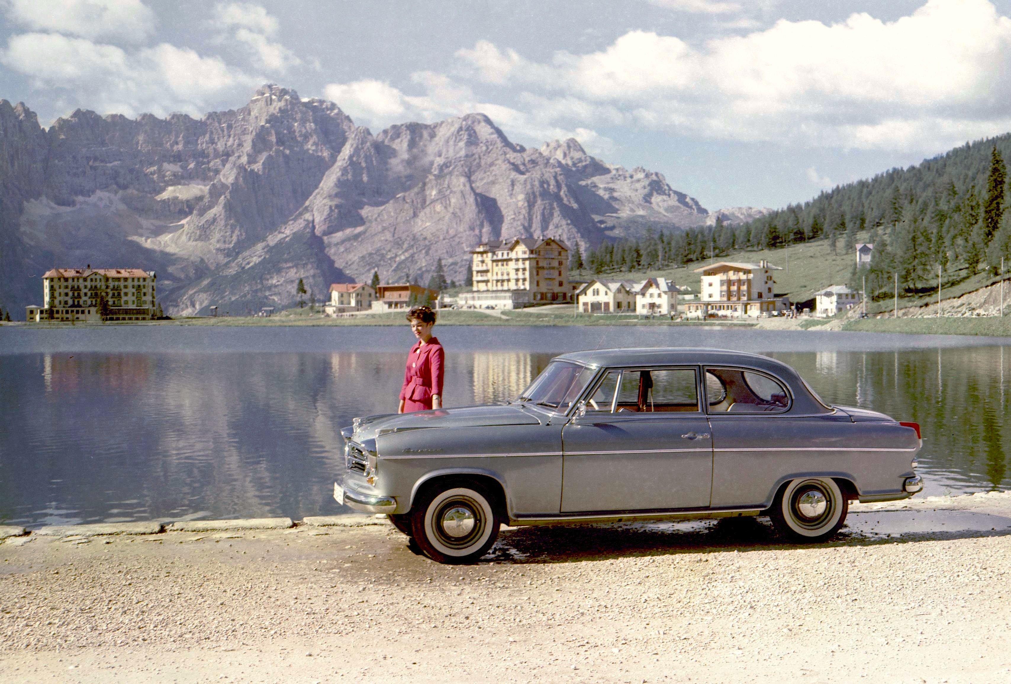 Beliebtes Familienauto der 1950er-Jahre: der Borgward Isabella.
