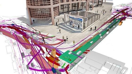 Baupläne können nur wenige Menschen lesen. In virtuellen Computer-Simulationen finden sich dagegen schon Kinder zurecht. Inzwischen hält die virtuelle Realität auf dem Weg über die Digitalisierung auch in die Bauwirtschaft Einzug.