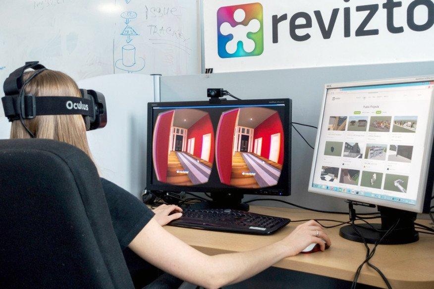 In der Gebäudedaten-Modellierung BIM werden inzwischen auch die Möglichkeiten der Virtual Reality genutzt.